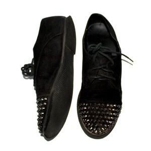Breckelles Studded Oxfords